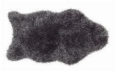Bild: Astra Fell Teppich Mia - Shape (Dunkelgrau; 150 x 80 cm)
