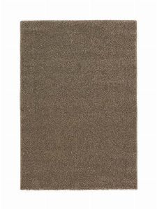 Bild: Kurzflor Teppich Samoa - Uni Design (Haselnuss; 200 x 290 cm)
