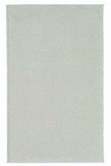 Bild: Kurzflor Teppich Samoa - Uni Design (Creme; 67 x 130 cm)