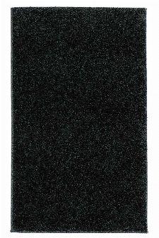 Bild: Kurzflor Teppich Samoa - Uni Design (Anthrazit; 67 x 130 cm)