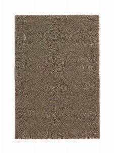 Bild: Kurzflor Teppich Samoa - Uni Design (Haselnuss; 160 x 230 cm)