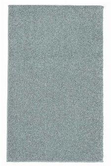 Bild: Kurzflor Teppich Samoa - Uni Design (Silber; 80 x 150 cm)