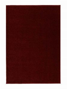 Bild: Kurzflor Teppich Samoa - Uni Design (Rot; wishsize)