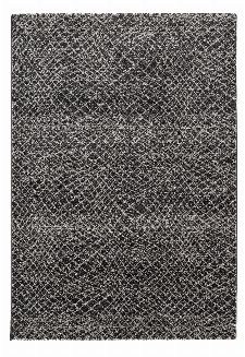 Bild: Astra Kurzflorteppich Carpi - Gitter 3D - (Anthrazit; 160 x 230 cm)
