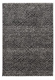 Bild: Astra Kurzflorteppich Carpi - Gitter 3D - (Anthrazit; 80 x 150 cm)