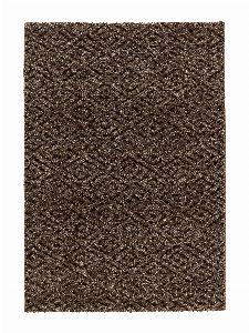 Bild: Astra Kurzflorteppich Carpi - Raute - (Braun; 133 x 190 cm)