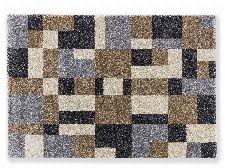 Bild: Astra Hochflor Teppich Savona - Kästchen (Braun; 290 x 200 cm)