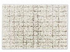 Bild: Astra Hochflor Teppich Savona - Gitter (Creme; 130 x 67 cm)
