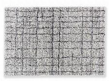 Bild: Astra Hochflor Teppich Savona - Gitter (Grau; 130 x 67 cm)