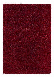 Bild: Astra Hochflor Teppich Rivoli - Uni (Rot; 130 x 67 cm)
