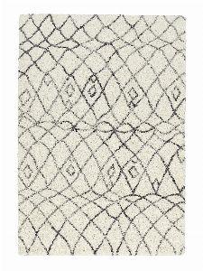 Bild: Astra Hochflor Teppich Rivoli - Marokko (Anthrazit; 190 x 133 cm)