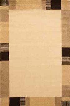 Bild: Bordürenteppich Pisa - Line - (Beige)