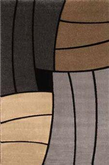 Bild: Teppich Florenz - Funny Stripes - (Beige)