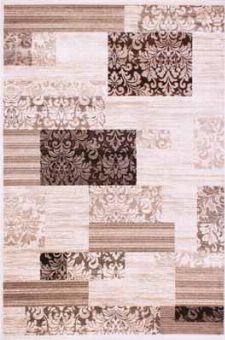 Bild: Teppich Patchwork Art - (Beige)