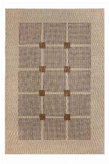 Bild: Flachgewebe Teppich Square (Braun; 120 x 170 cm)