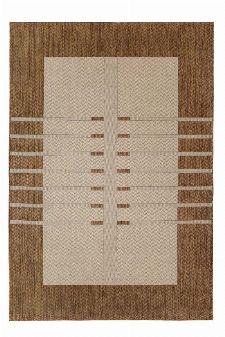 Bild: Flachgewebe Teppich Structure (Braun; 80 x 150 cm)