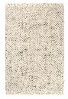 Bild: Brink&Campman Flachgewebe Teppich Atelier Twill (Creme; 140 x 200 cm)