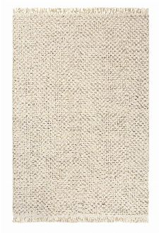 Bild: Brink&Campman Flachgewebe Teppich Atelier Twill (Creme; 200 x 280 cm)
