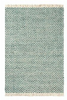 Bild: Brink&Campman Flachgewebe Teppich Atelier Twill (Blau; 140 x 200 cm)