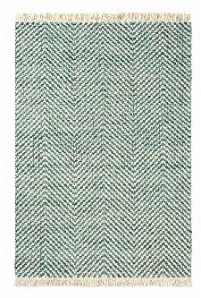 Bild: Brink&Campman Flachgewebe Teppich Atelier Twill (Blau; 200 x 280 cm)