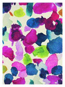 Bild: Teppich Abstract (Bunt; 170 x 230 cm)