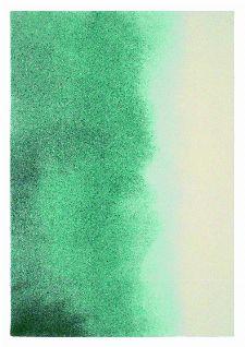 Bild: Teppich Teal paintbox (Blau/Weiß; 170 x 230 cm)