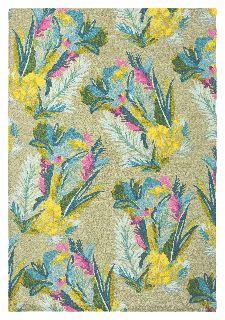 Bild: Designer Schurwollteppich Jungle 18307 (Bunt; 200 x 280 cm)