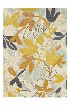 Bild: Scion Schurwollteppich Baja (Gelb; 140 x 200 cm)