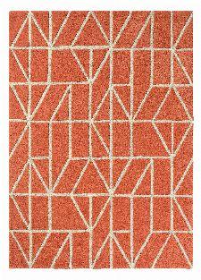 Bild: Scion Schurwollteppich Viso (Rot; 140 x 200 cm)