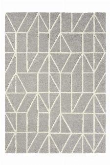 Bild: Scion Schurwollteppich Viso (Grau; 170 x 240 cm)