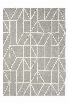 Bild: Scion Schurwollteppich Viso (Grau; 250 x 350 cm)