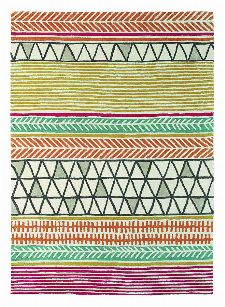 Bild: Teppich Raita (Orange; 200 x 280 cm)