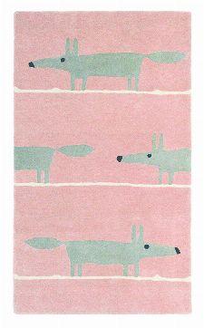 Bild: Teppich Mr Fox (Blush; 90 x 150 cm)