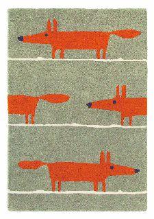 Bild: Teppich Mr Fox (Beige; 90 x 150 cm)