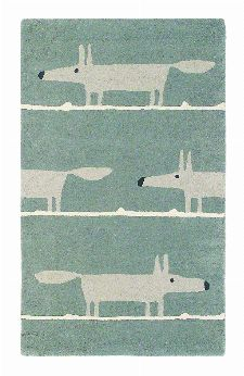 Bild: Teppich Mr Fox (Grau; 120 x 180 cm)