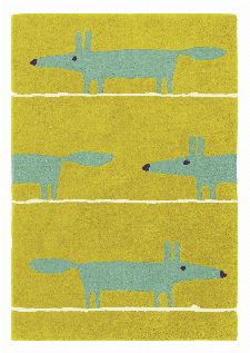 Bild: Teppich Mr Fox (Amber; 120 x 180 cm)