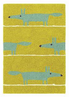 Bild: Teppich Mr Fox (Amber; 90 x 150 cm)