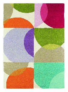 Bild: Teppich Kaleido (Rot; 140 x 200 cm)