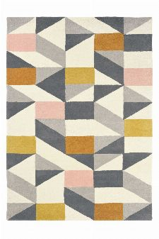 Bild: Scion Schurwollteppich Nuevo (Orange; 200 x 280 cm)