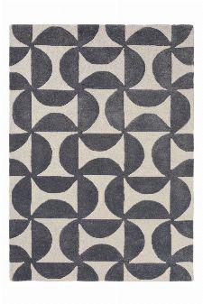 Bild: Scion Schurwollteppich Forma (Grau; 200 x 280 cm)