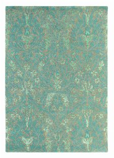Bild: Teppich Autumn flowers (Blau; 140 x 200 cm)