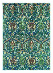 Bild: Teppich Granada (Blau; 250 x 350 cm)