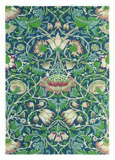 Bild: Teppich Lodden (Indigo; 250 x 350 cm)