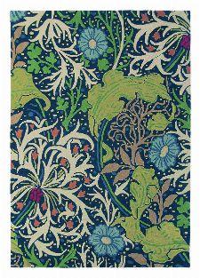 Bild: Teppich Seaweed (Bunt; 140 x 200 cm)