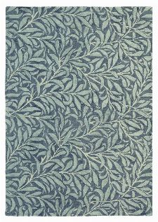Bild: Wollteppich Willow Bough (Grau; 200 x 280 cm)