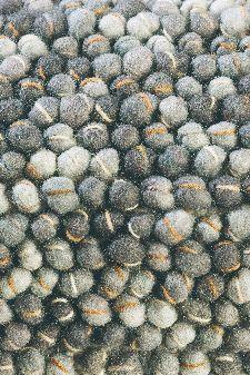 Bild: Designer Webteppich Cobble (Grau; 170 x 240 cm)