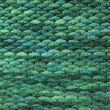 Bild: Teppich Pinto (Meeresblau; wishsize)