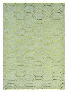 Bild: Retro Teppich Arris (Grau; 250 x 350 cm)