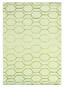 Bild: Retro Teppich Arris (Creme; 200 x 280 cm)