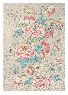 Bild: Wedgwood Designer Teppich Paeonia (Coral; 250 x 350 cm)